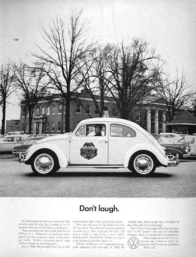 1966 VW Beetle Police Car
