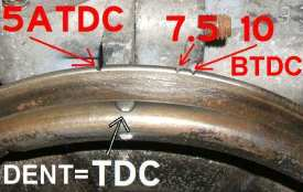 Crankshaft Pulley Timing Marks